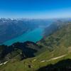 スイス旅行 一日目 移動〜ブリエンツ・ロートホルン駅からプランアルプ駅までの下山ハイキングまで