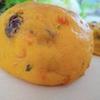 かぼちゃの皮まで使いきり!まるごとかぼちゃレーズンパン