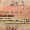 松屋フーズ(9887)から優待が到着: 優待食事券10枚