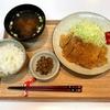 【献立・一汁二菜】白米+とんかつ+漬物+味噌汁