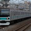 [ダイヤ改正前に…]常磐緩行線で東京メトロ6000系・209系1000番台を狙う!