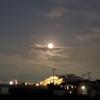 ❝かぐや姫に出てきそうな月と雲 6月24日❞