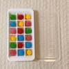 100円均で簡単手作りおもちゃ モンテッソーリ教具「カラーボールあけうつし」