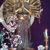 海老名市・龍峰寺の長身かつ清水寺式の千手観音立像