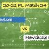 【合理的な前進と攻撃】Premier League 24 チェルシーvs ニューカッスル
