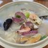 【韓国旅行】仁川空港から無料で行けるおすすめグルメ! ファンへ 海鮮(ヘムル)カルグクス