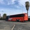 ロサンゼルスからサンノゼへ!Bolt Bus(ボルトバス)は映画も観れて快適だった