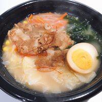 新発見!麺の代わりにご飯を入れたら、めちゃウマ~ ファミマ「ピリ辛豚骨味噌スープごはん」