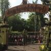 動物園とShwedagon Pagoda
