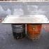 ペール缶で鉄板焼きと炭焼き両方できるコンロを作ってみた!