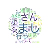 2018/7/28【35日目】AKBでよくretweetされているのは誰か?