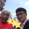 沖縄4日目・西川きよし師匠とレッドカーペット!