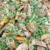 鶏肉と根菜の甘辛炒め