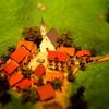 ジオラマをジオラマ風写真で『高畑勲展』アルプスの少女ハイジの山小屋