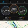 青トラバイクラン練+IRONMAN VR7 20210221