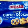 「AMERICANA CAKES Butter Cookies Blue」を食べました