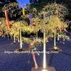 京の七夕 二条城ライトアップ2019に行ってきました。七夕飾りがキラキラ綺麗