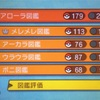 【ポケモンサン・ムーン】図鑑完成を目指して頑張ることを決意!