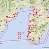 駿河湾巡航地図
