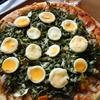 夏野菜のピザとふっくらブリオッシュで幸せ感じてます^^