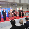豊洲市場開場記念式典-「安全・安心市場へ」小池知事