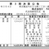 株式会社U-NEXT 第3期決算公告