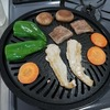 おうちで焼き肉とカルビスープ風スープ