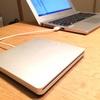 意外と使わず意外と活躍/Apple USB SuperDrive