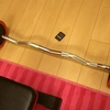 【筋トレ日誌:vol51】スカルクラッシャーで三頭筋破壊!Wバーの効果を実感した