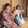タイの親友と再会 きものを着て茶道体験@京都