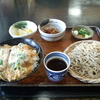 武州長瀬【文七】小かつ丼と冷たいそばのセット ¥995