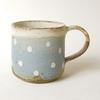独特なマットな質感とやさしい色合いが特徴のマグカップ。