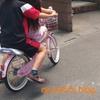息子は娘の自転車教官