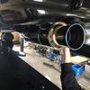 BNR32 GT1.0Z Racing マフラー 柿本 に変えてみた。スカイラインGT-R マフラー交換。富山から。