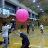 キンボール練習風景 どやさ、どやさー!!