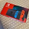 Switchが届きました!!