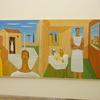 国立新美術館で開催中の第93回・国展に出品された神尾和由さんの絵を観る
