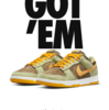 """SNKRS NIKE DUNK LOW """" OLIVE GOLD"""""""