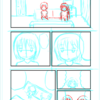 【漫画制作】初4ページ漫画挑戦中(進捗25%) 1ページずつ描く効果