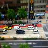 ミニチュア風(ジオラマ風)写真『神田駿河台下交差点』