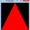 WindowsでOpenGLES --- 三角形描画
