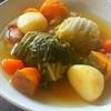 ロール白菜のポトフ