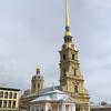要塞の中の素晴らしい教会!ペトロバヴロフスク聖堂 @ サンクトペテルブルク