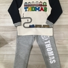 トーマス好きの息子の冬用パジャマ