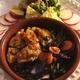 タコシェルに挟んで食べたかった:✴︎栗入りワカモレ(覚書き)、鮟鱇のチリとクミン風味焼き、キャベツと人参とラディッシュの葉のスパイスロースト