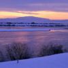 信濃川の夕暮れ