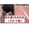 【保存版】足が速くなる方法を教える記事(スタート編)