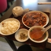 地元人気店「盛」で麻婆豆腐定食