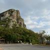 海抜172mそびえ立つ岩山が目印の離島「伊江島」