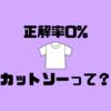 「カットソー」とは?Tシャツとの違いは?
